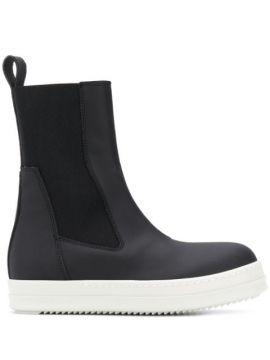 Elasticated Side Panel Boots - Rick Owens Drkshdw