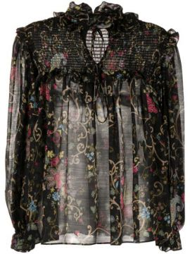Floral Embroidered Blouse - Etro