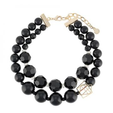Double-layer Beaded Necklace - Emporio Armani