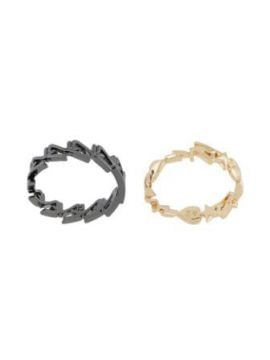 Zv Cut-out Stacking Rings - Zadig&voltaire