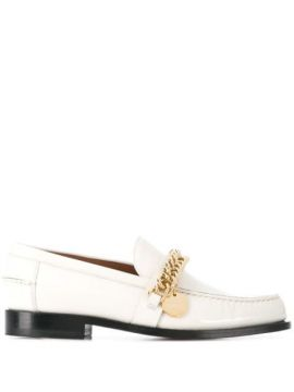 Chain-detail Leather Loafers - Givenchy