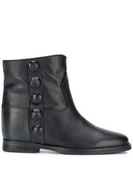 Studded Ankle Boots - Via Roma 15