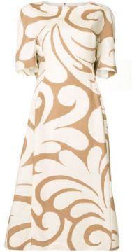 Swirl-print Dress - Marni