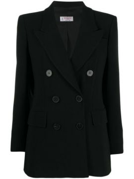 Double-breasted Fitted Blazer - Alberto Biani