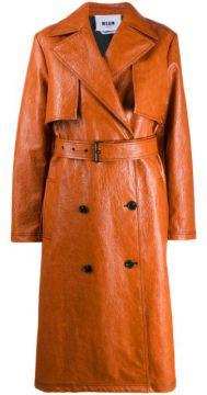 Belted Trench Coat - Msgm
