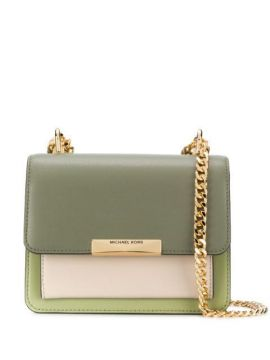 Jade Leather Shoulder Bag - Michael Michael Kors