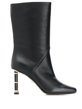 Square-toe Leather Boots - Alevì