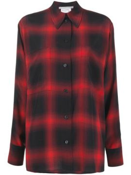 Camisa Hattie Com Estampa Xadrez - Stella Mccartney