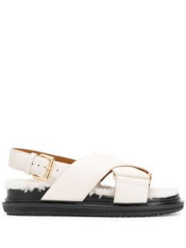 Fussbett Criss-cross Sandals - Marni