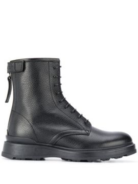 Ankle Boot De Couro - Woolrich