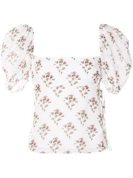 Floral Print Blouse - Brock Collection