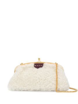 Shearling Shoulder Bag - Marni
