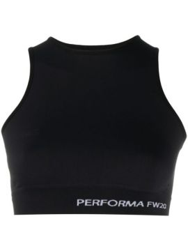 Performa Cropped Sleeveless Top - Rick Owens