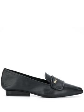 Pointed Leather Loafers - Salvatore Ferragamo