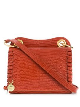 Snakeskin Effect Shoulder Bag - See By Chloé