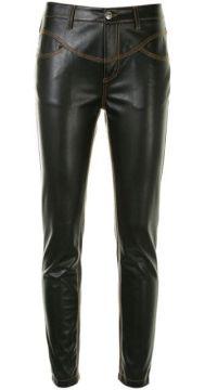 Faux-leather Skinny Trousers - Ermanno Scervino
