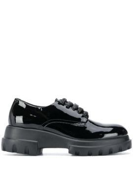 Chunky Lace-up Shoes - Agl