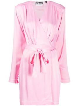 Robe Wrap Dress - Rotate