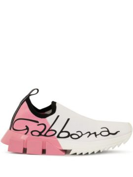 Tênis Color Block - Dolce & Gabbana