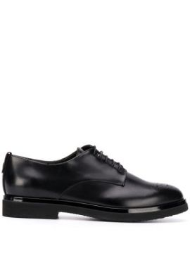 Round-toe Lace-up Brogues - Agl
