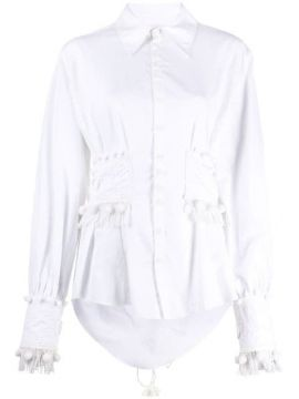Corseted Button Down Shirt - Charles Jeffrey Loverboy
