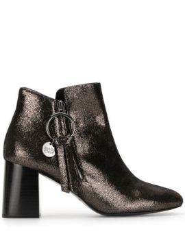 Ankle Boot Metálica - See By Chloé