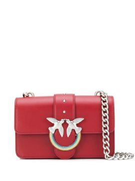 Love Leather Shoulder Bag - Pinko