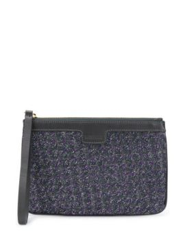 Clutch Com Bordado E Zíper - Missoni