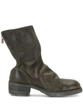 Ankle Boot Com Zíper - Guidi
