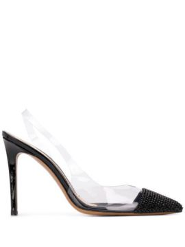 Clear Panel Pointed Pumps - Alexandre Vauthier