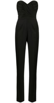 Sleeveless Straight-leg Jumpsuit - Ermanno Scervino