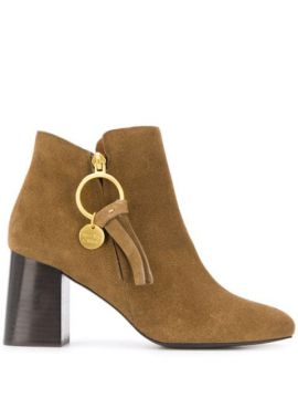 Ankle Boot Louise Com Logo - See By Chloé