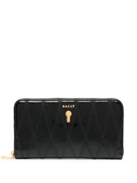 Zip-up Leather Purse - Bally