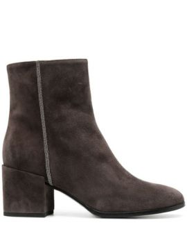 Suede Ankle Boots - Fabiana Filippi