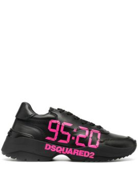 Logo Print Lace-up Sneakers - Dsquared2
