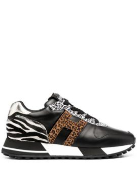 Animal Print Trainers - Hogan