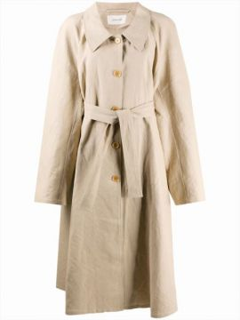 Trench Coat Com Cinto - Lemaire