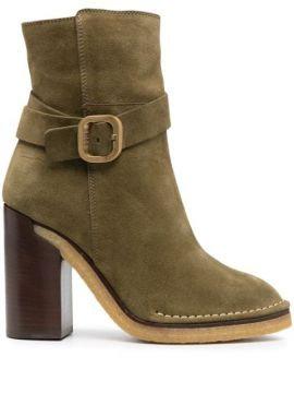 Suede Ankle Boots - Tods