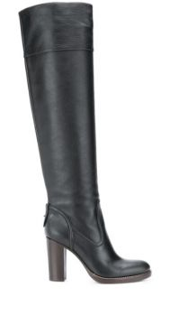 Bota Over-the-knee De Couro - Chloé