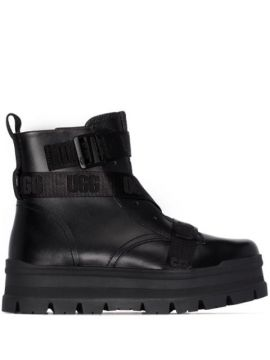 Ankle Boot De Couro - Ugg