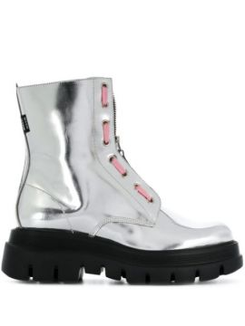 Ankle Boot Metálica - Msgm