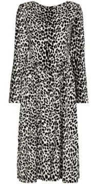 Leopard-print Midi Dress - Batsheva