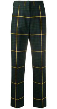 Checked Tailored Trousers - Hilfiger Collection