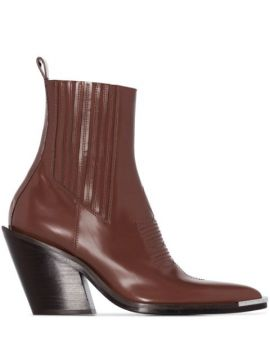 Ankle Boot Bico Fino - Paco Rabanne