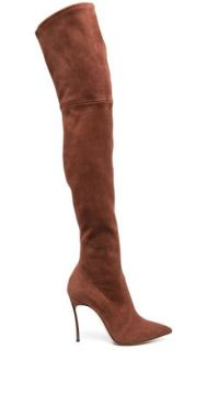 Bota Over-the-knee Com Salto Agulha - Casadei