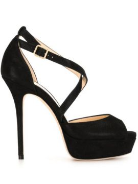 Sapato Jenique Com Plataforma 125mm - Jimmy Choo
