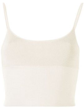 Ribbed Cropped Top - Dion Lee