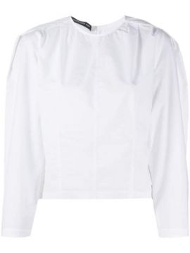 Puff-sleeve Panelled Blouse - Department 5
