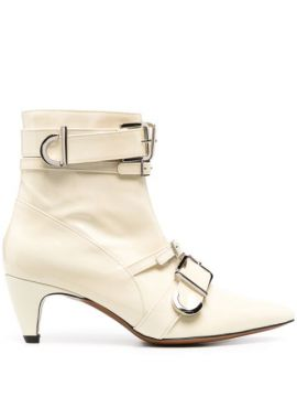 Multi-buckle Ankle Boots - Alexa Chung