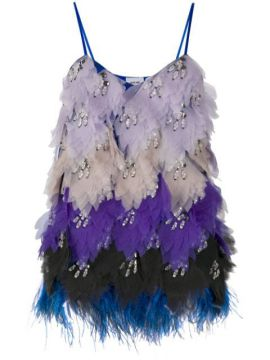 Feather-detail Strappy Top - Emilio Pucci